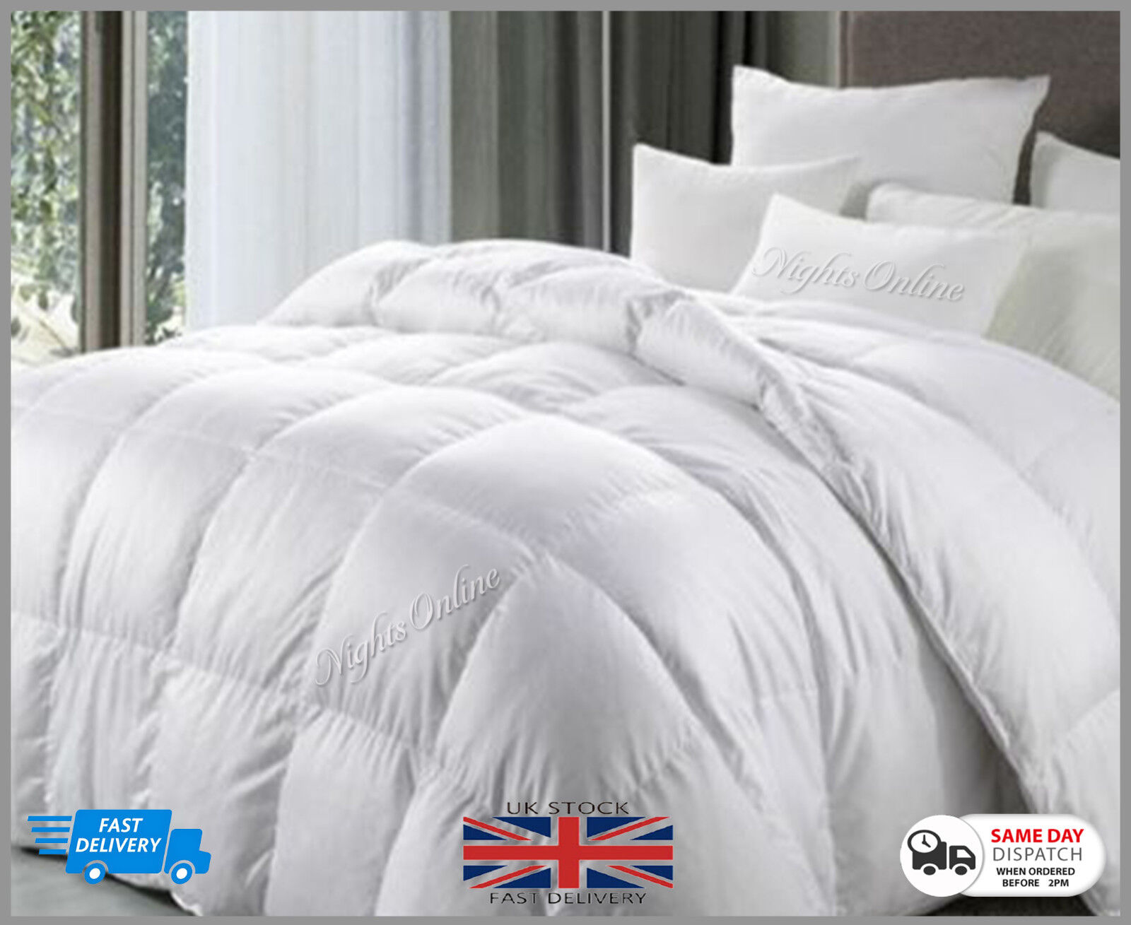 **Special Offer** Goose Feather & Down Duvet Quilt  Extra Wa