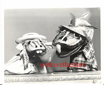 Vintage Kukla Fran & Ollie PUPPETS '53 TV Classic Publicity Portrait