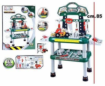 Tabelle Arbeit für Kinder groß Bankett Spiel mit Werkzeuge Spielzeug h. 85cm