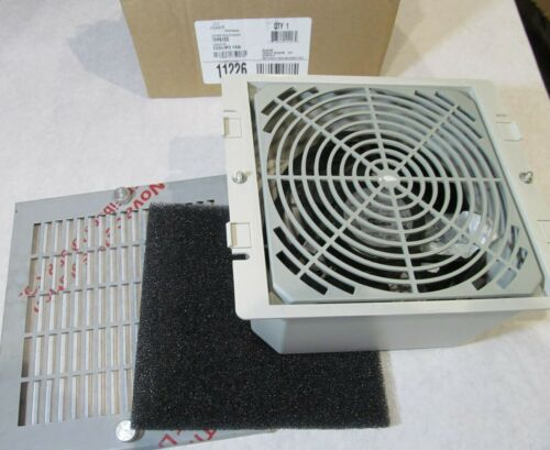 """HOFFMAN/ NVENT TFP61SS COOLING FAN/ ENCLOSURE COOLING VENT 115V 7.8x 8.87x 3.75"""""""
