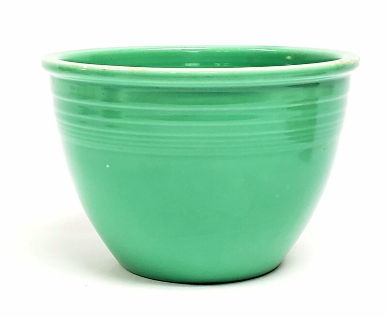 Fiesta Original Light Green Mixing Bowl #3 by Homer Laughlin