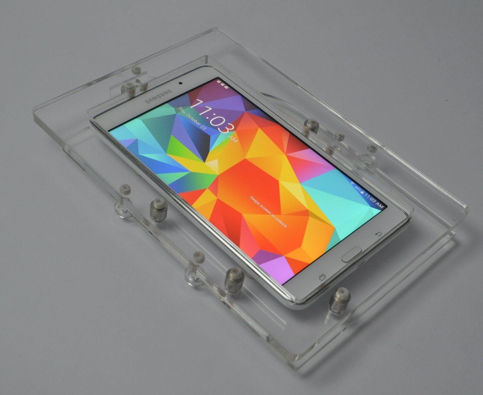 "Samsung Galaxy TAB NOTE 8"" Tablet Acrylic Security Wall Moun"