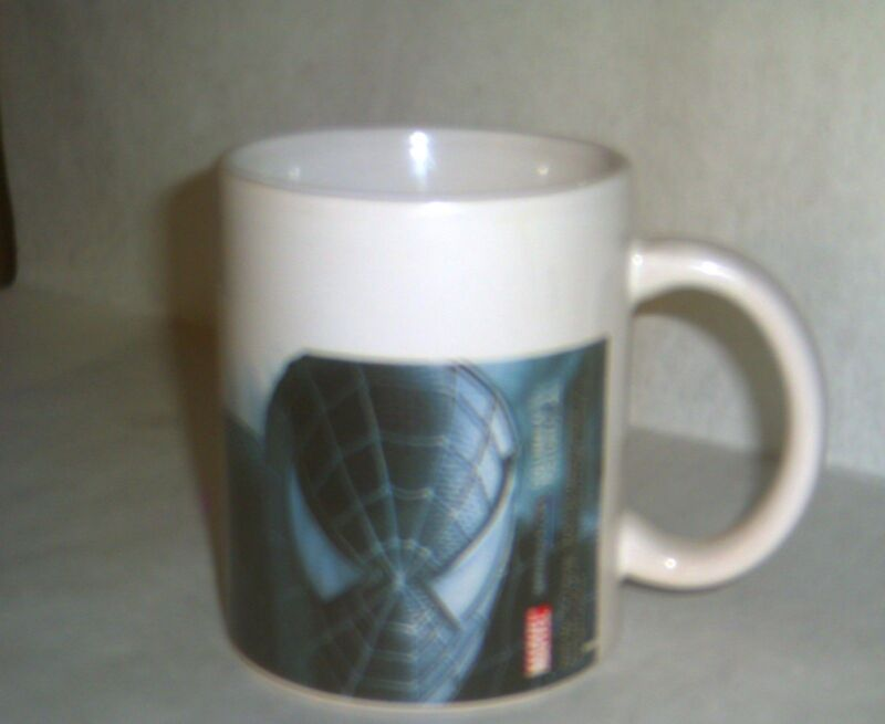 2007 Sherwood Ceramic Coffee Cup Mug - SPIDER-MAN (Black Suit) - Marvel Comics