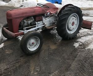 9N FORD WHEEL TRACTOR