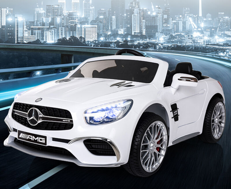 Kids Electric Ride On Car Mercedes-Benz Licensed Motorized Vehicles + Remote USB