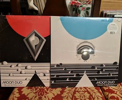 Moon Duo - Occult Architecture Vol. 1 & 2, Red + Black Vinyl w/ Box Sacred