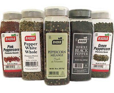 Tellicherry Black Pepper - Whole/Green/Pink/Black/White/Tellicherry/peppercorn/Pepper/Pimienta/Variety!!