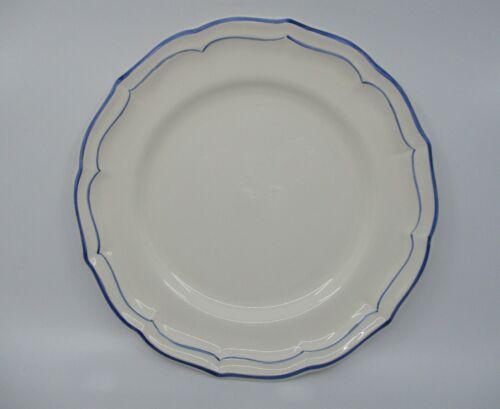 """GIEN FILET BLEU DINNER PLATE  - 10 5/8""""  1409B"""