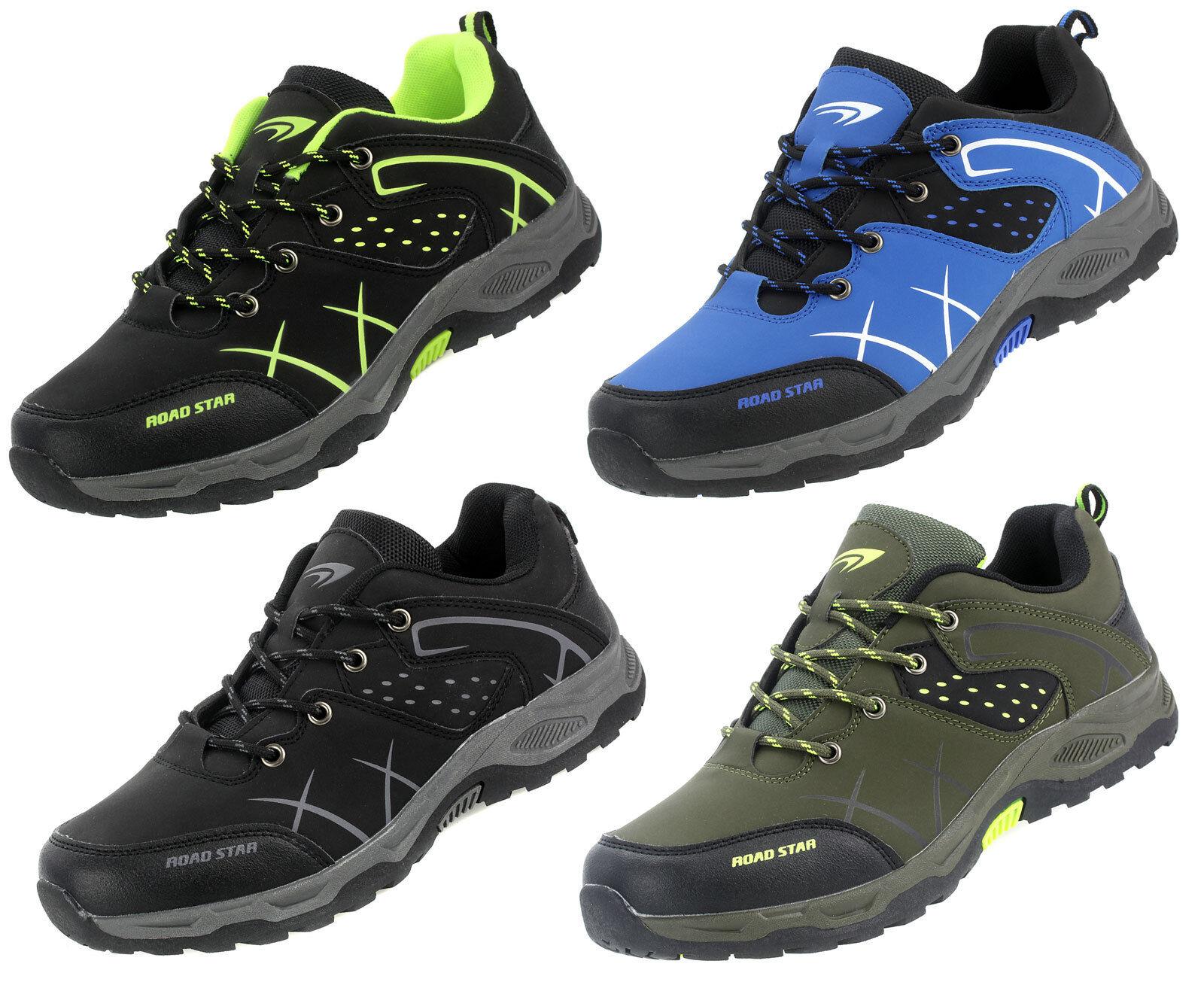 Trekking Herrenschuhe Jungen Sneaker Outdoor Sport Freizeit Schuhe Neu 82837