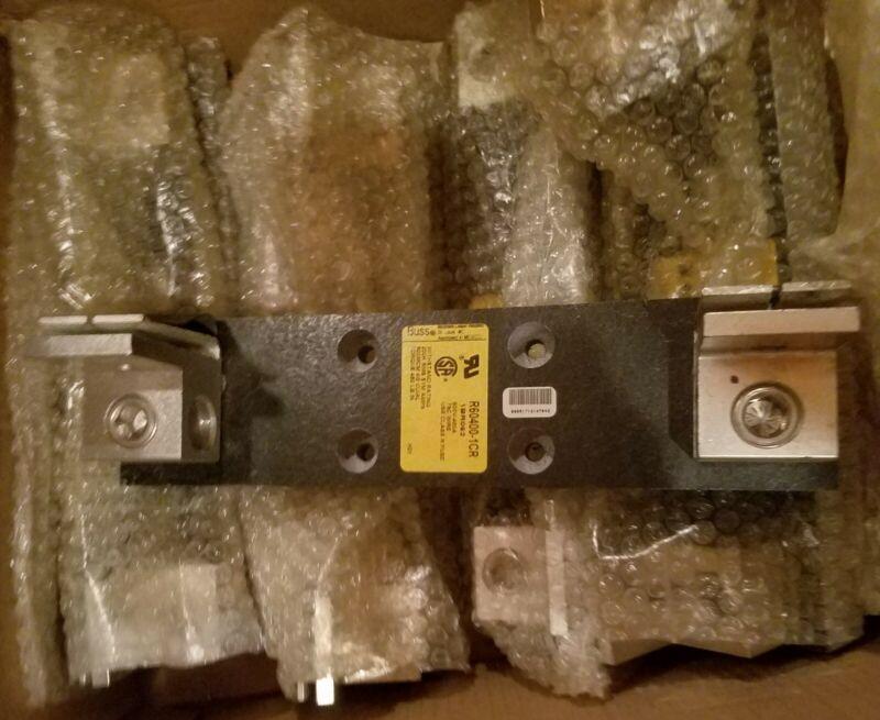Cooper Bussmann Fuse Block Holder R60400-1CR 600V 400A 1BR062