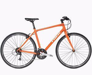 Trek FX series men's bike 7.4 in orange Crows Nest North Sydney Area Preview