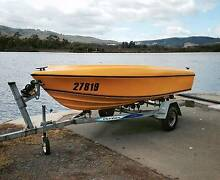 Haines Hunter Seawasp 14ft Fibreglass Open Boat Franklin Huon Valley Preview