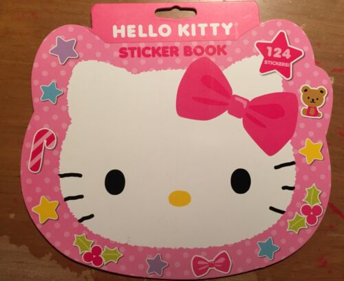 SANRIO Hello Kitty Christmas XMAS NEW Sticker Booklet!  4 Sheets Stickers!