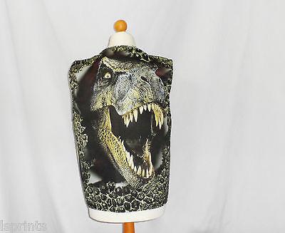 Lustige Neuheit Weste Dinosaurier Gesicht Kostüm Spass Geschenkidee Party