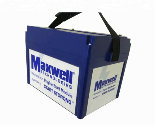 Maxwell 16V 500F graphene super capacitor battery 12v solar power system home