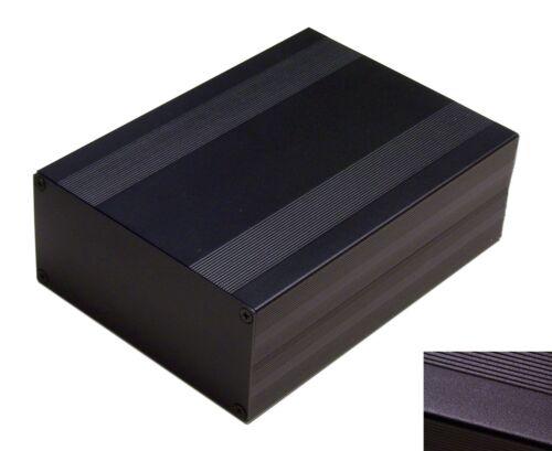 DIY Black Aluminum Project Box Enclosure Case Electronic Large _Big