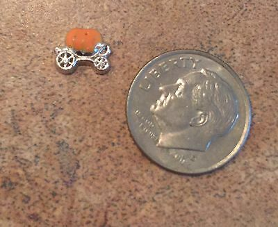 Origami Owl Style Dangle Princess Pumpkin Coach Carriage Cinderella Disney - Owl Pumpkin