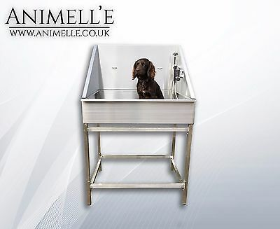 *SALE NOW ON* STAINLESS STEEL DOG GROOMING BATH DOMESTIC PET CLEANING, WASHING