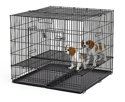 MidWest Homes For Pets Puppy Playpen with Floor Grid Medium