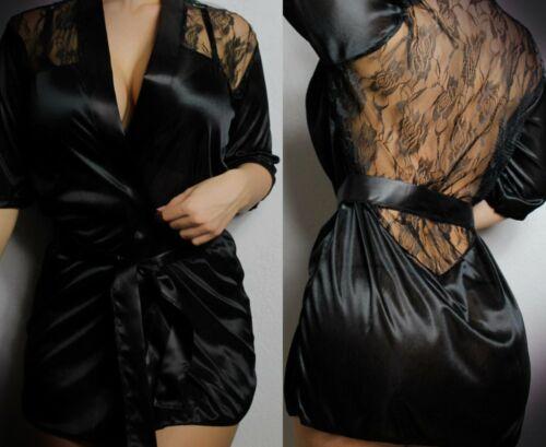 Sexy-Lingerie-Robe-Underwear-Sleepwear-Women-G-string-Lace-Babydoll-Nightwear US