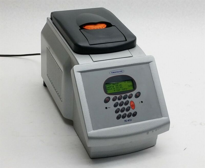 Techne TC-412 FTC41H2D PCR Thermal Cycler -4c to 99c w/ FTC41BHD 96-Well Plate