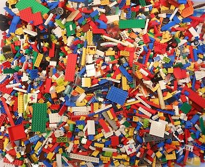 Lego Bulk Lots 5-30 lbs & Minifigs Assorted Genuine Building Bricks Parts & Pcs