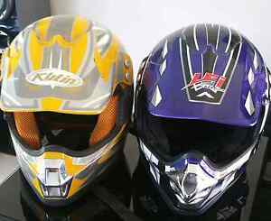 2 adult size dirt motorbike helmets!!! Epping Whittlesea Area Preview
