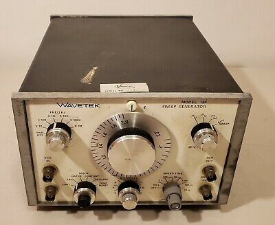 Wavetek - Model 134 -sweep Generator - Un-tested -read