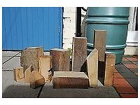 Carving/turning wood - selection of sizes and types of wood
