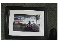Framed photograph of Blackpool Promenade