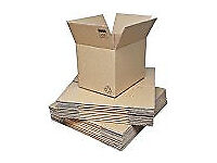 Removals boxes. Over 80 strong cardboard boxes for house removals, different sizes. Only used once.