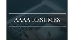Resume writing service online