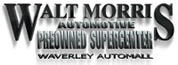 WALT MORRIS PRE OWNED SUPERCENTER MAJOR ANNOUNCEMENT