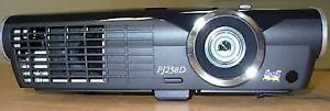 Viewsonic Projector model PJ258D with case and ceiling mount