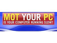 MOT PC - HP Dell Lenovo Desktop PC - Virus Removal - Fresh Install - Monitor