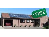 Limited Period only. Solar PV Panels insatalled on the roof for FREE!