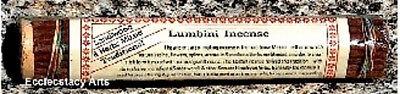 Ароматизированные палочки, благовони Tibetan Lumbini Incense