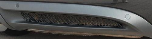 Zunsport Porsche Boxster 981 2012 On Rear Stainless Steel Grille
