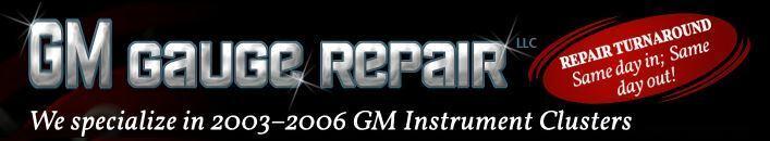 GM Gauge Repair