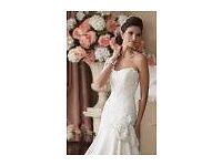 WHITE EXCLUSIVE WEDDING DRESS BY DAVID TUTERA