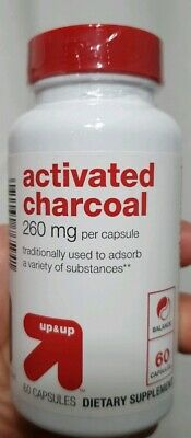 Up & Up Activated Charcoal 260 mg 60 Capsules  (260 Mg 60 Capsules)