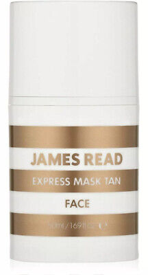 James Read Express Mask Face Tan 50ml Tan In 30 Mins Or Leave On For Darker BINB