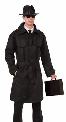 FORUM SECRET AGENT TRENCH COAT ADULT HALLOWEEN COSTUME ACCESSORY STANDARD 73444