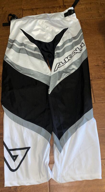 Alkali Senior Roller Hockey Pants M White/Black/ Gray