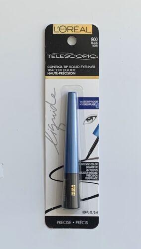 L'Oreal Telescopic Precision Liquid Eyeliner, Waterproof, Bl