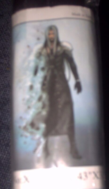 Cloth Wall Scroll Final Fantasy VII Advent Children Sephiroth New! Sealed! Rare!