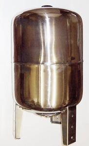 50 l Druckkessel Membrankessel Edelstahl, stehend, Druckbehälter