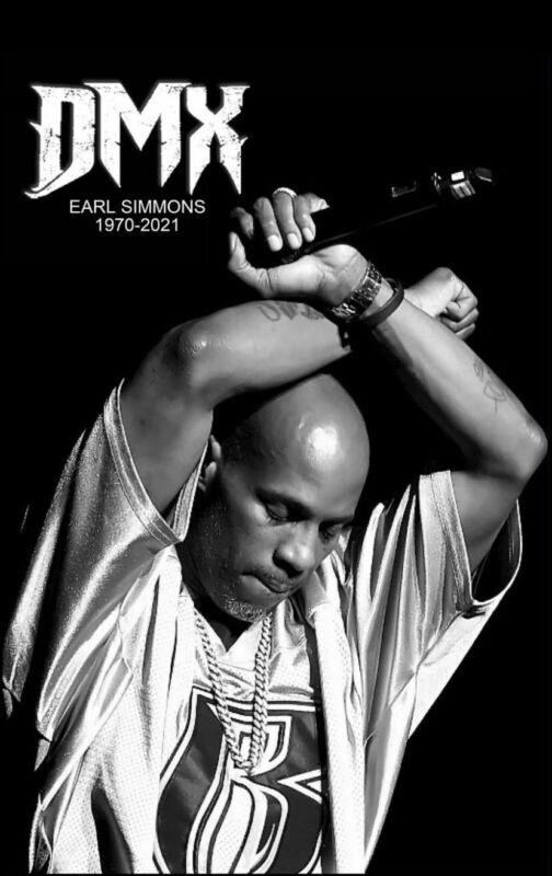POSTER:MUSIC:RAP/HIP HOP :  DMX/ EARL SIMMONS 24x36 Poster