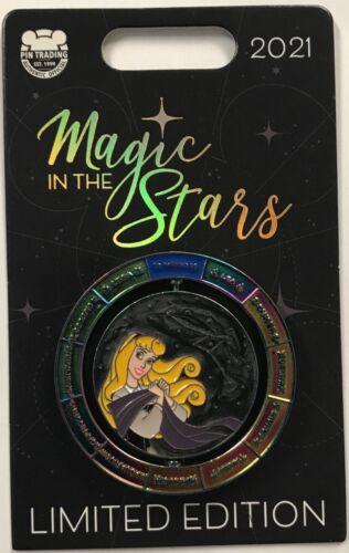 Disney Parks 2021 Magic In The Stars Sleeping Beauty Aurora Virgo LE Pin