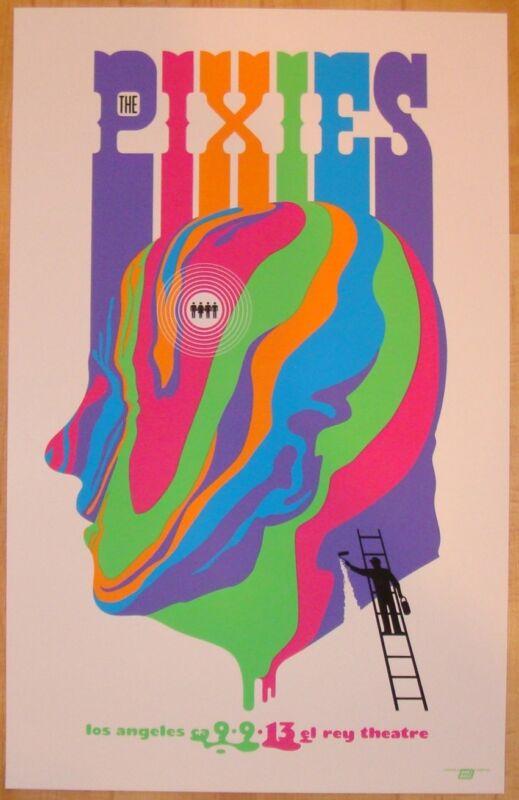 2013 The Pixies - LA I Silkscreen Concert Poster by Ames Design